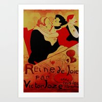 french Art Prints featuring FRENCH by Kathead Tarot/David Rivera