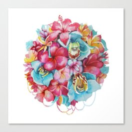 Hawaiian Bouquet Canvas Print