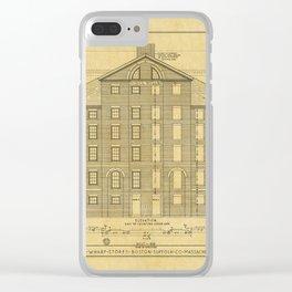 India Wharf Boston Clear iPhone Case