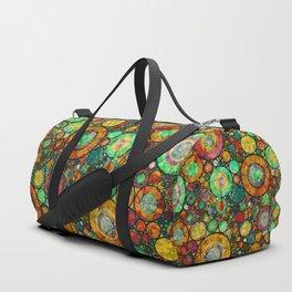 Ring Pattern 3 Duffle Bag