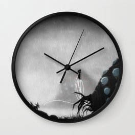 be calm ohmu Wall Clock
