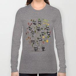 cat tree graphic tee Long Sleeve T-shirt
