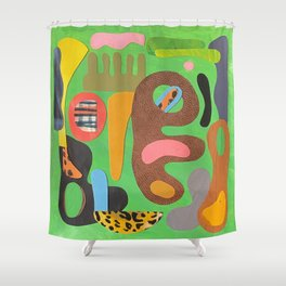 Playground Shower Curtain