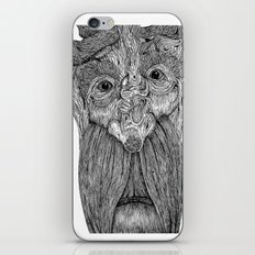 Tree Person iPhone Skin