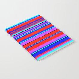 Stripes-006 Notebook