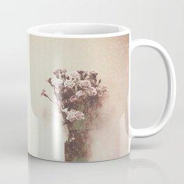 Abstract Vintage Flowers Coffee Mug