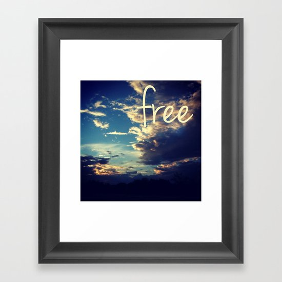 free III Framed Art Print