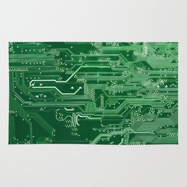 Electronic circuit board Rug