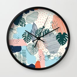Issa Tropical Wall Clock