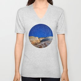 Up To the Milky Way Unisex V-Neck