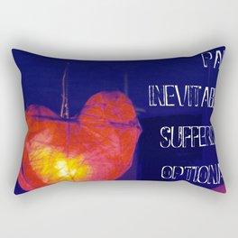 H. Murakami quote -1 Rectangular Pillow