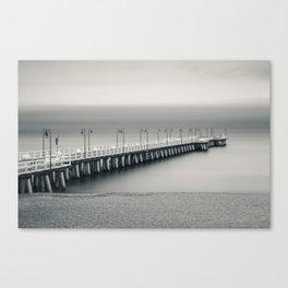 silent pier Canvas Print