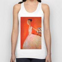 ballerina Tank Tops featuring Ballerina by Madison R. Leavelle
