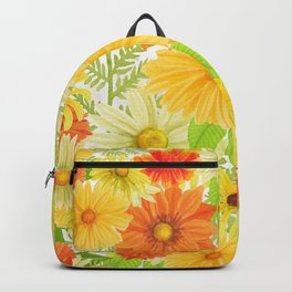 Daisy Collage Backpack