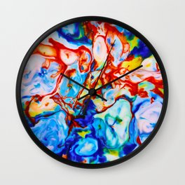 Milkblot No. 9 Wall Clock
