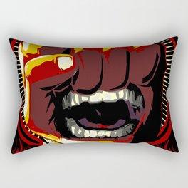 Fists of Rage Rectangular Pillow