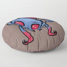 Zombie Monkey Floor Pillow