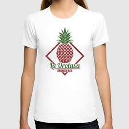 La Orotava Valley pineapple basket T-shirt