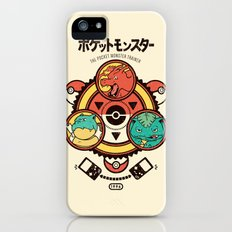 Pocket Monster Trainer Slim Case iPhone (5, 5s)
