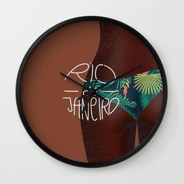 Rio de Janeiro style Wall Clock