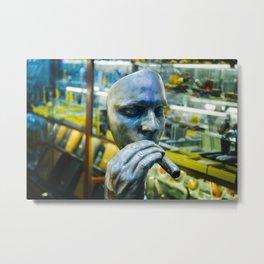 habit Metal Print