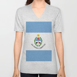 flag of San Juan Unisex V-Neck