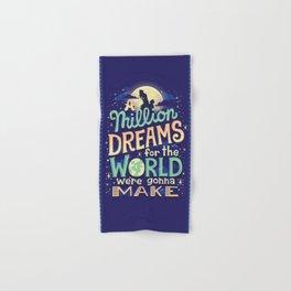A Million Dreams Hand & Bath Towel