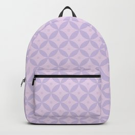 Abstract geometric pattern lavender Backpack