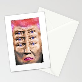 """Trump's Alternative Facts: """"I don't believe anything, I see things"""". Stationery Cards"""