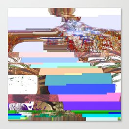 spinal glitch pt. 1 Canvas Print