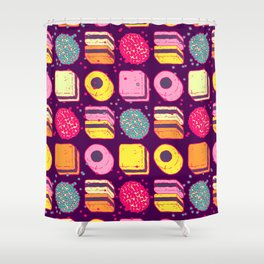Licorice Allsorts 2 Shower Curtain