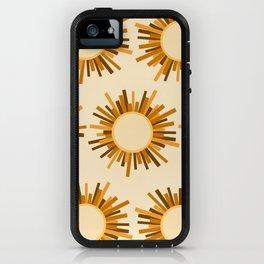 Art Deco Starburst iPhone Case
