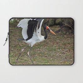 Saddle-billed Stork Laptop Sleeve