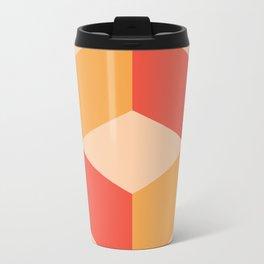 Geo Metal Travel Mug