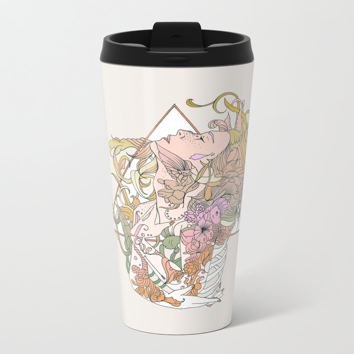 I N K Metal Travel Mug