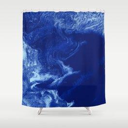 Ice Stars Shower Curtain