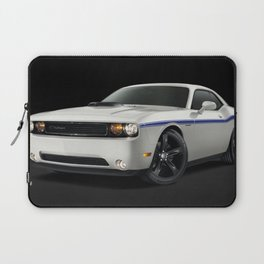 MOPAR Challenger in white with only 1 of 100 made Laptop Sleeve