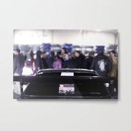 Cars and Cigars Metal Print
