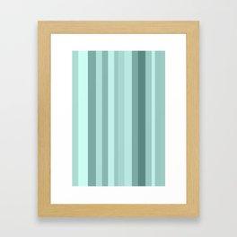 blue. Framed Art Print