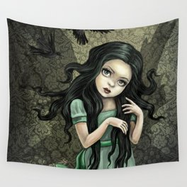 Shadow Wings Faerie Wall Tapestry