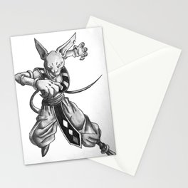 Beerus Stationery Cards