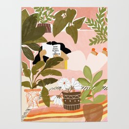 How Many Plants Is Enough Plants? Poster