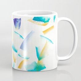 180719 Koh-I-Noor Watercolour Abstract 38 | Watercolor Brush Strokes Coffee Mug