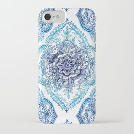 Indian Ink - in Blues iPhone Case