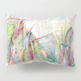 Vegetal color chaos Pillow Sham