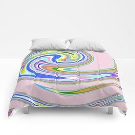 swim in colour Comforters