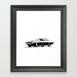 A. M. 5 Framed Art Print
