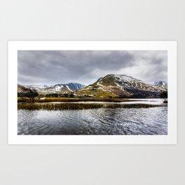 Brothers Water Lake District Art Print