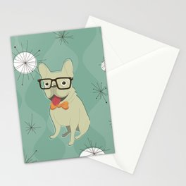 Frank the Frenchie Stationery Cards