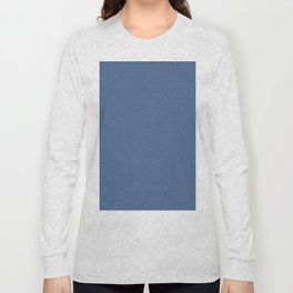 Simply Aegean Blue Long Sleeve T-shirt